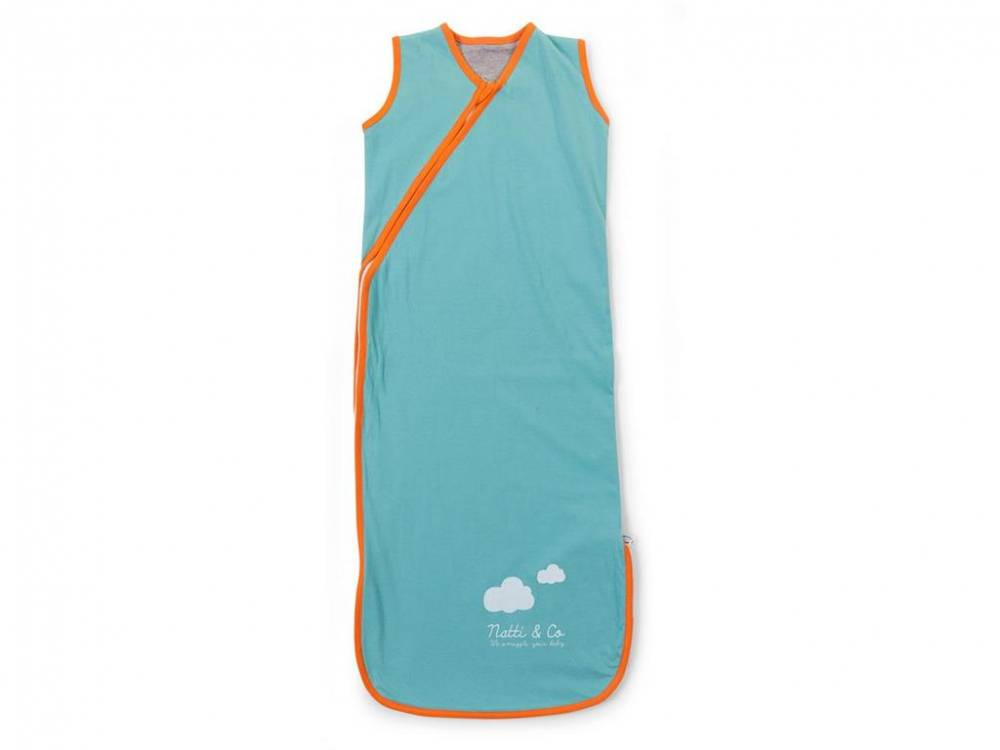 Baby Sommer Schlafsack 70 - 90cm, Pool Blue, Childhome