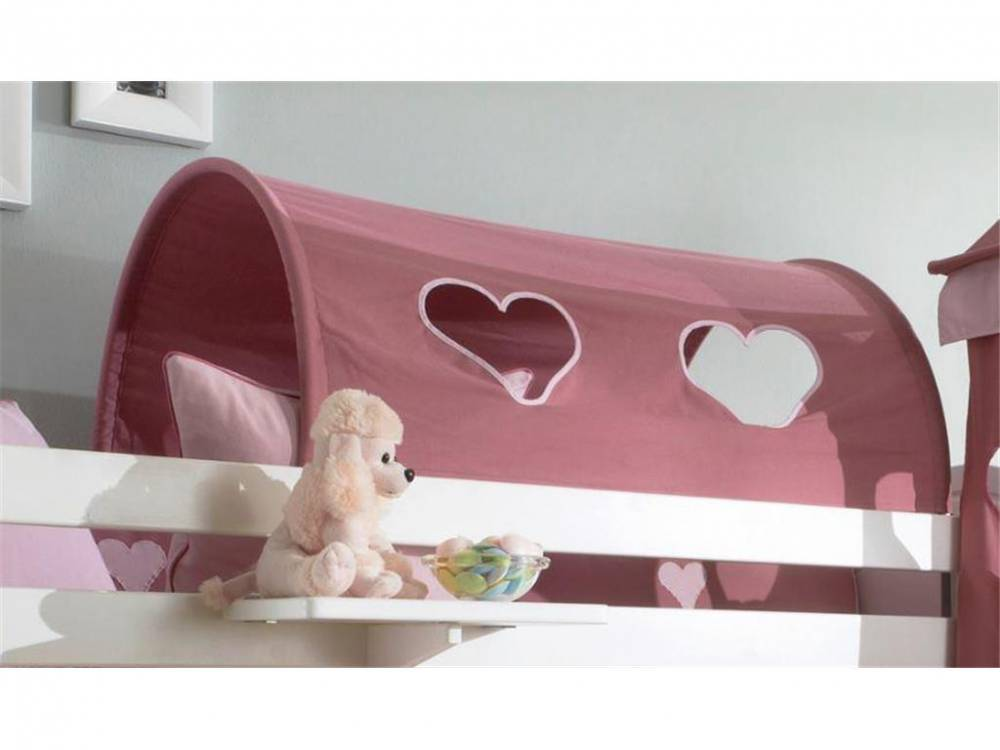 Betttunnel Herz für Kinderbett, Dolphin Multicolor