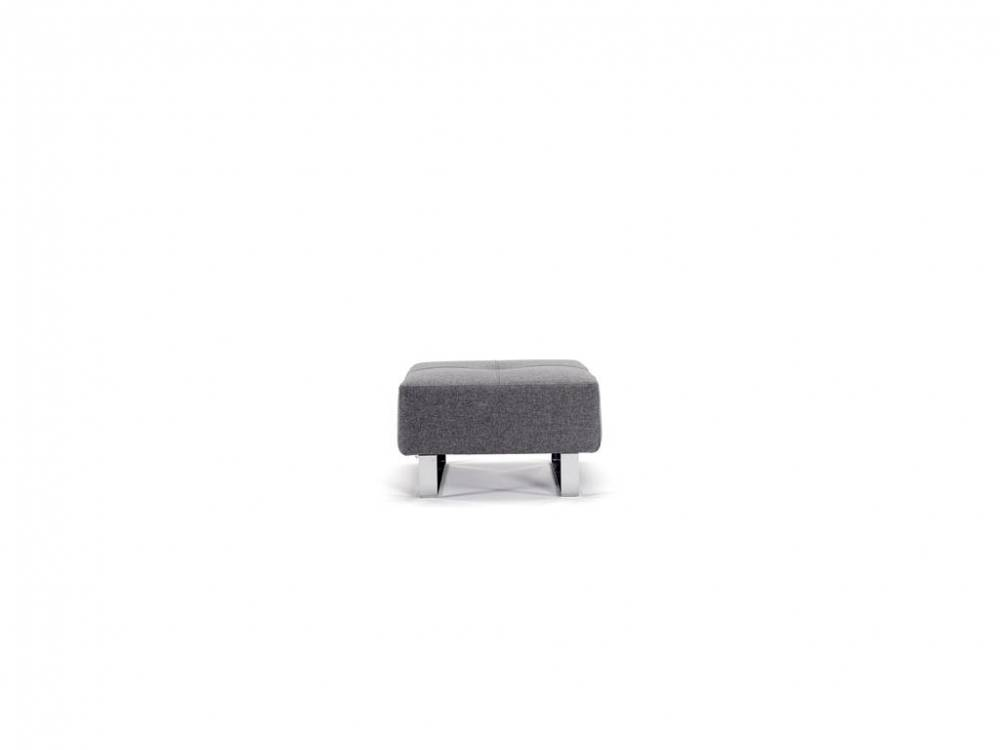 Deluxe Excess Hocker, Grey, Innovation