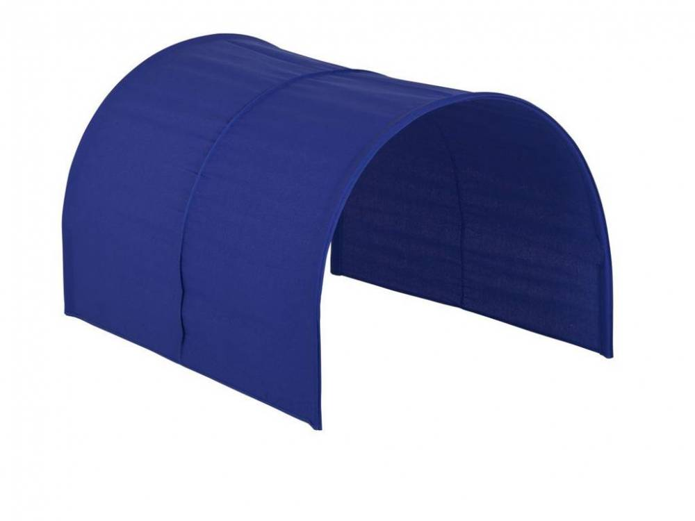 Flexa Basic Betttunnel Blau, für Kinderbett