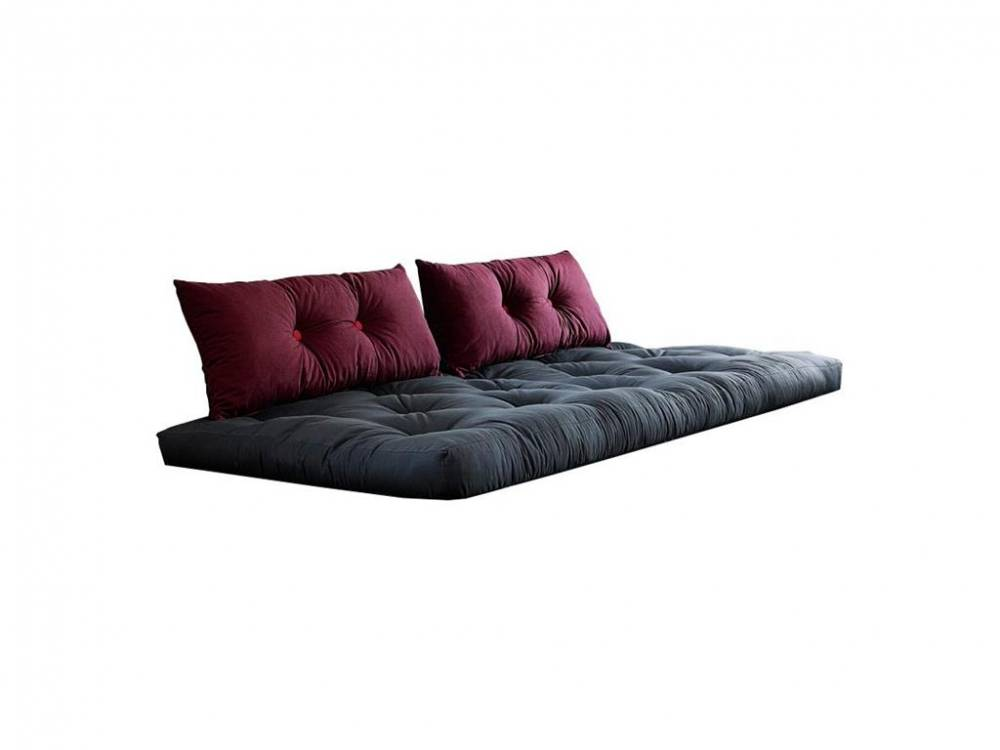 karup futon comfort matratze schwarz 80x200 mit. Black Bedroom Furniture Sets. Home Design Ideas