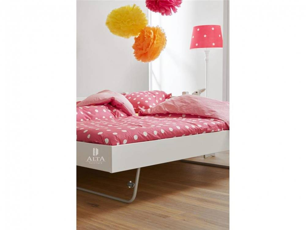 Jump-up Gästebett Snow white 90x190cm, ALTA furniture