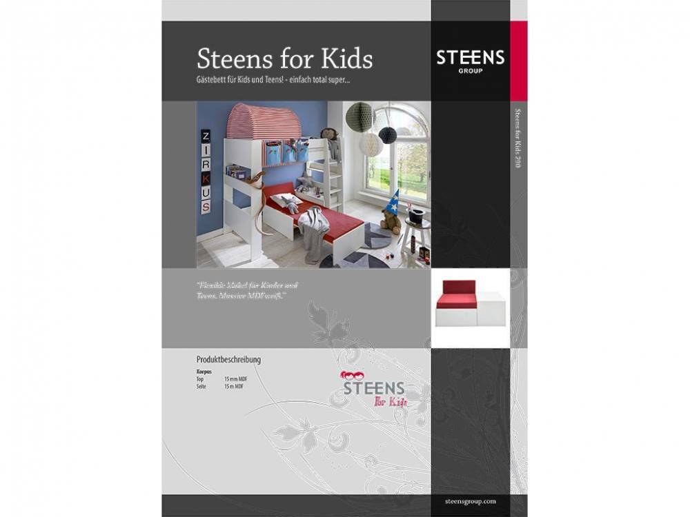 steens katalog von steens for kids 2017. Black Bedroom Furniture Sets. Home Design Ideas
