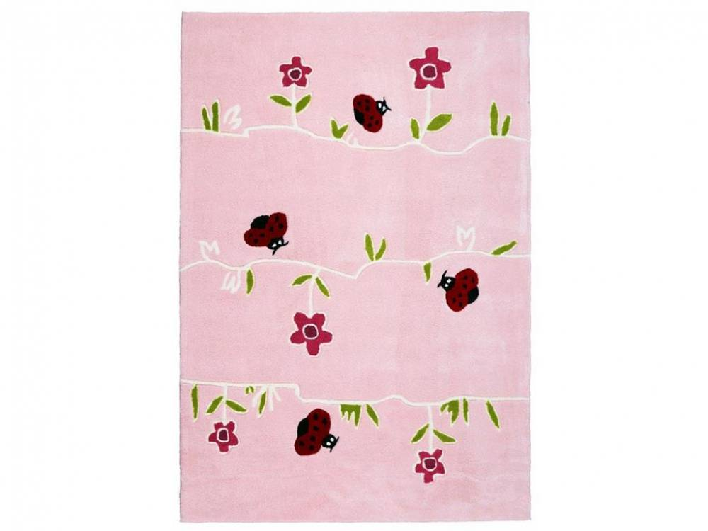 Kinderteppich BLUMENWIESE, 120x180cm, Happy Rugs Livone