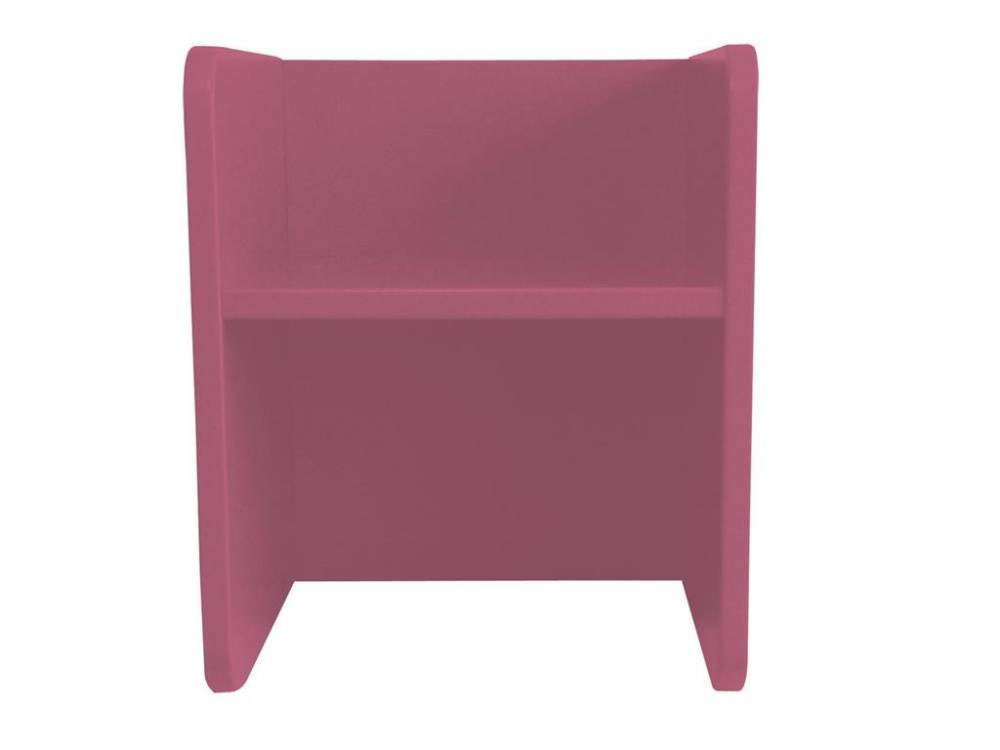 Kindertisch oder Kinderstuhl, 3-in-1 Hocker, Manis-h, Hocker Pink (32)