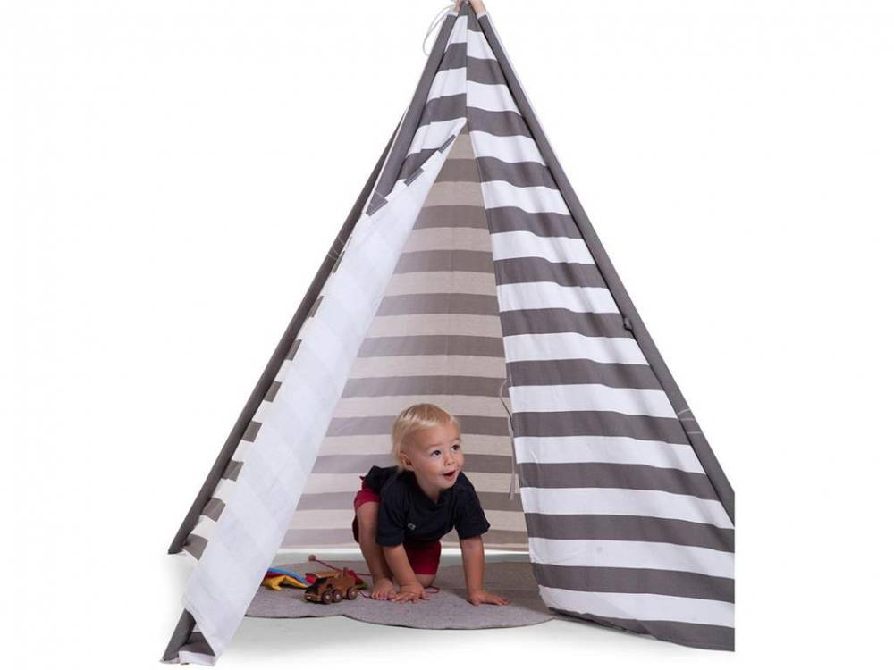 childhome kinderzelt kinder tipi childhome indoor zelt. Black Bedroom Furniture Sets. Home Design Ideas