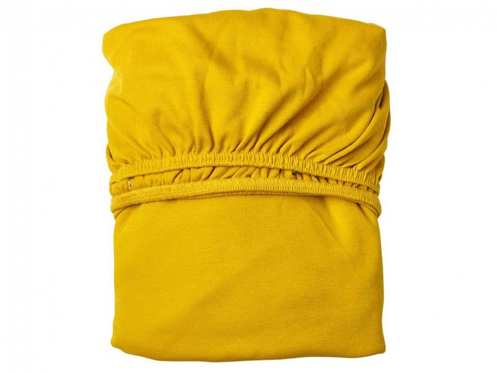 Laken 2er-Set für Babybett, Leander® Spicy Yellow