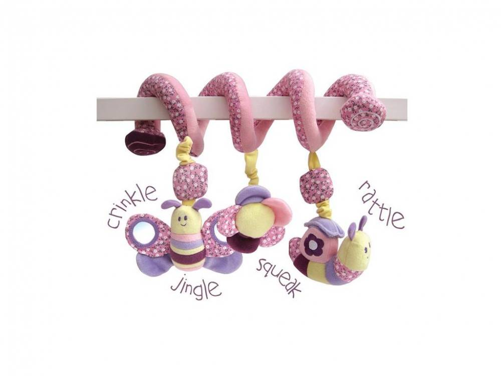 Little Bird told me, Baby-Activity Spirale Schmetterling