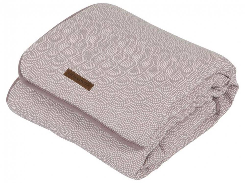 Little Dutch Decke Pure&Soft Mauve Waves, 110x140cm