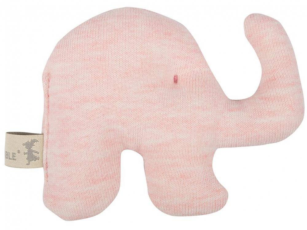 Lottas Lable® Rassel Elefant Elfi, Light Coral