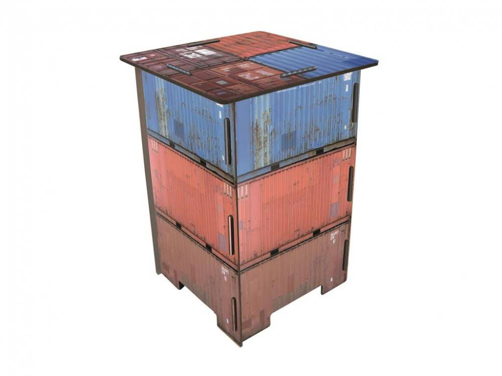 Photohocker Container Werkhaus