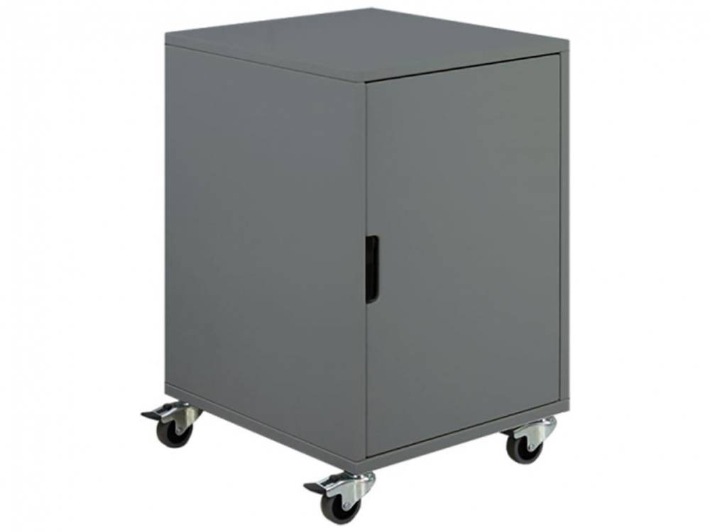 Rollcontainer mit 1 Tür Mix & Match Deep Grey, Bopita