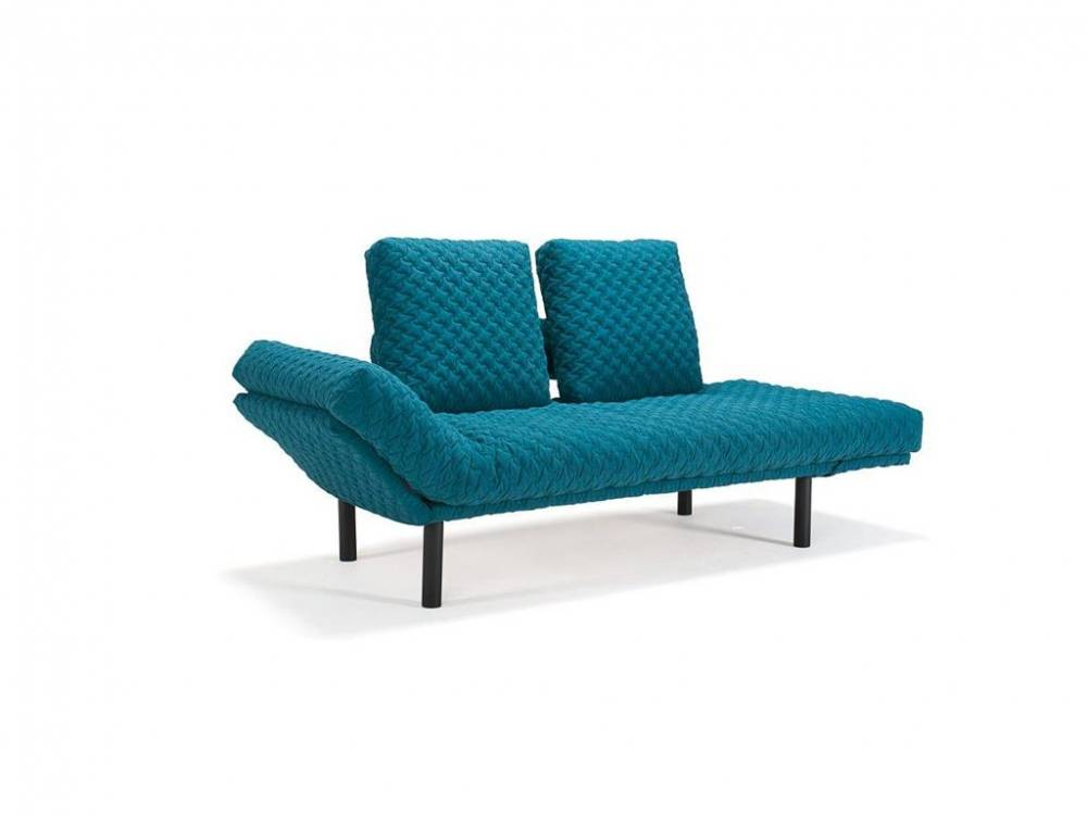Schlafsofa COZY Rollo in Petrol, Innovation