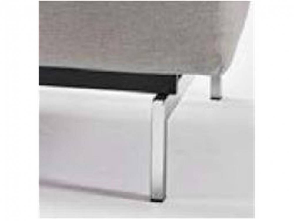 Schlafsofa Dublexo, Bezug: Mixed Dance Natural oder Twist Charcoal, Innovation Twist Charcoal (563) | Chrome, Rahmen Schwarz (002)