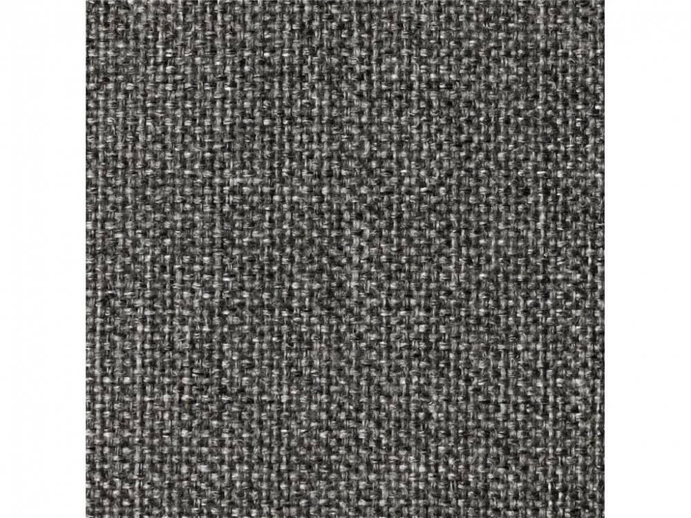 Schlafsofa Dublexo, Bezug: Mixed Dance Natural oder Twist Charcoal, Innovation Twist Charcoal (563) | Styletto Hell, Rahmen Silber (416)