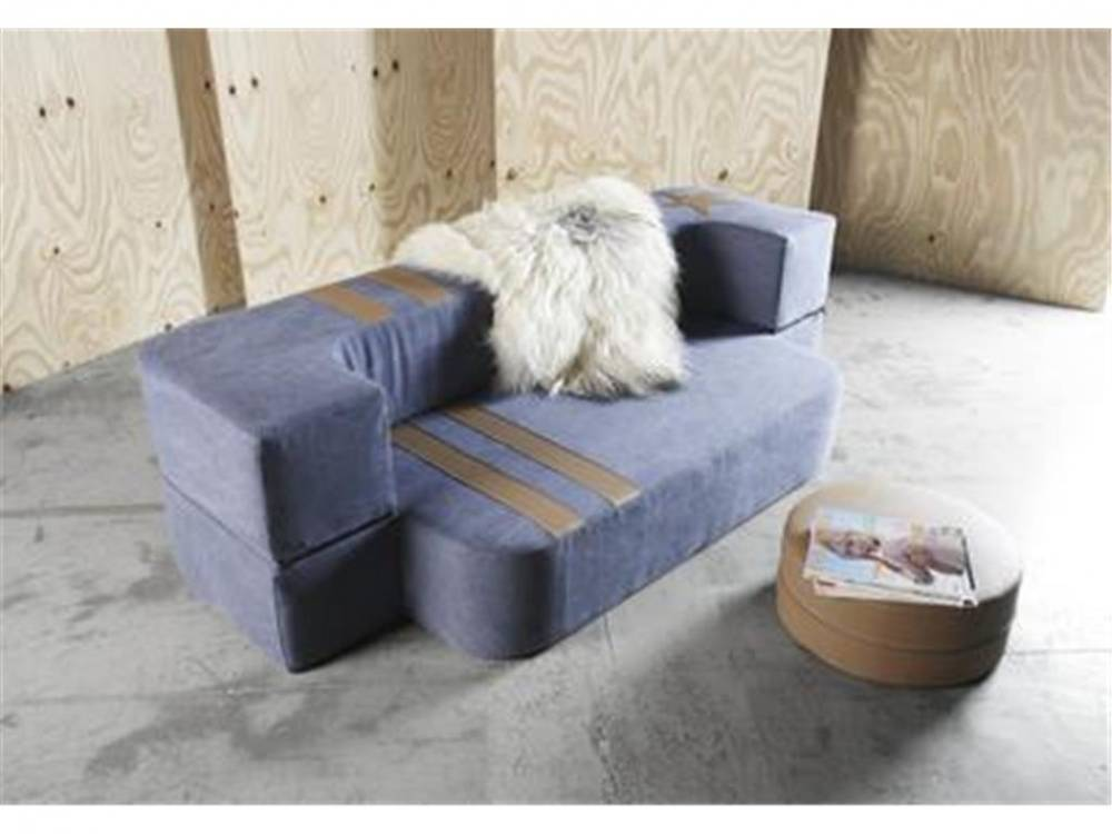 Schlafsofa TVEDEL, Twin Red oder Twin Blue, Innovation