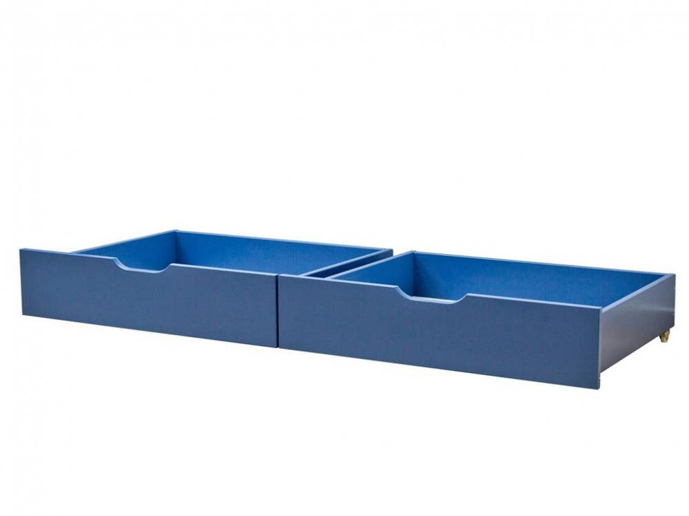 Schubladen 2er Set Hoppekids Basic Color Blau (79)