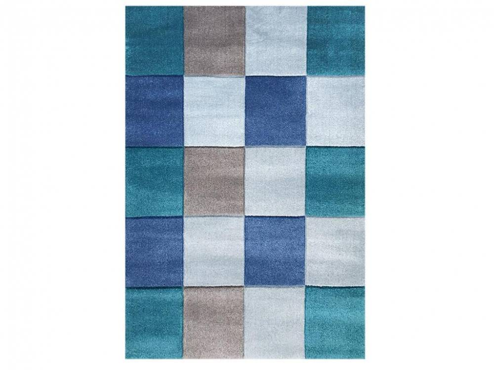 livone teppich checker blau 120x180cm happy rugs livone. Black Bedroom Furniture Sets. Home Design Ideas