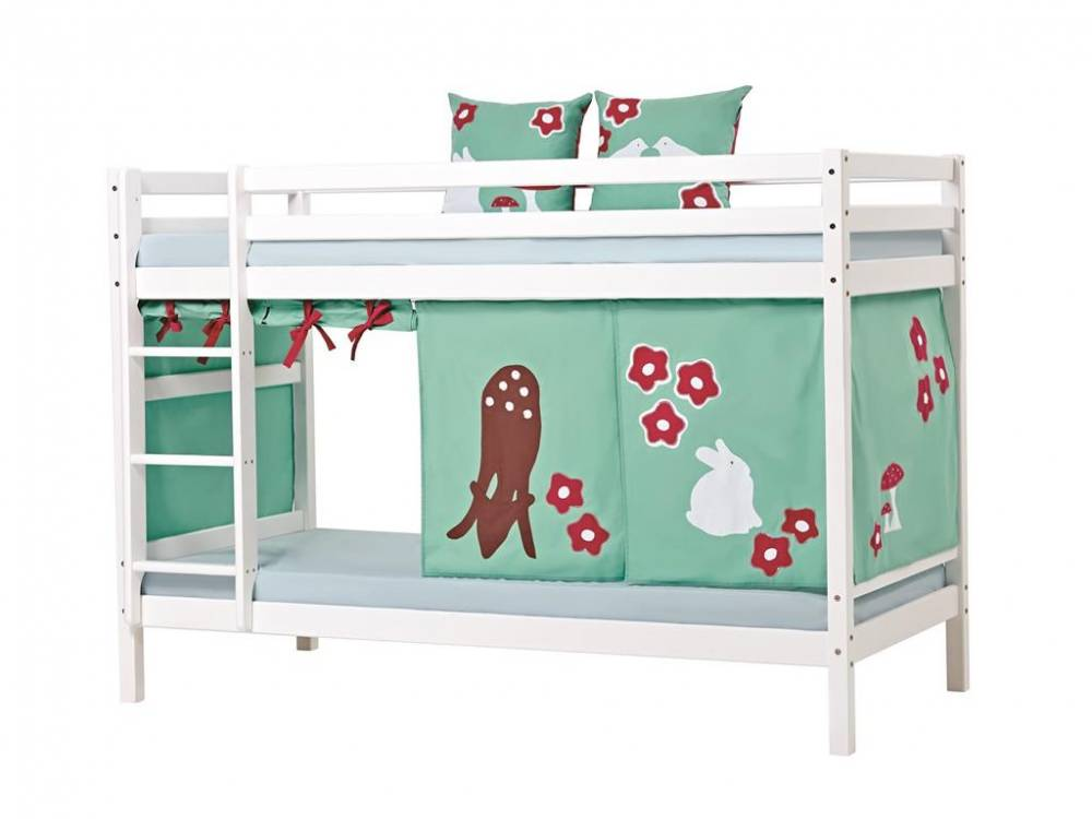 hoppekids vorhang forest f r spielbett oder etagenbett 90x200cm hoppekids. Black Bedroom Furniture Sets. Home Design Ideas