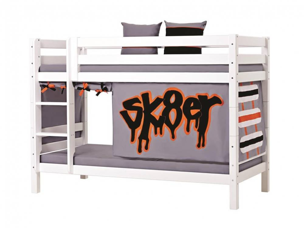hoppekids vorhang skater f r hochbett midisleeper. Black Bedroom Furniture Sets. Home Design Ideas