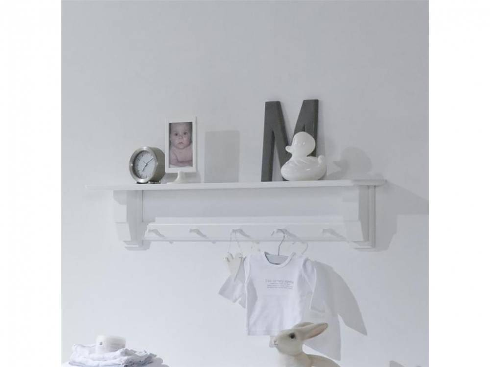 Wandgarderobe, Wandregal Snow white, ALTA furniture
