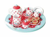 Indigo Jamm® Hearts Tee-set, Tea Party