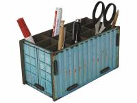Stiftebox Container Türkis