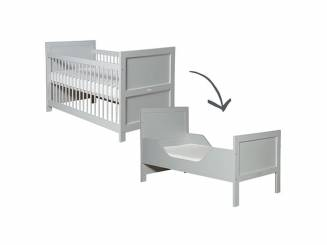 bopita babyflex b cher wandregal pure grey. Black Bedroom Furniture Sets. Home Design Ideas