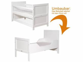 tolle babybetten in markenqualit t online kaufen. Black Bedroom Furniture Sets. Home Design Ideas