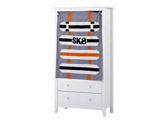 hoppekids skater vorhang f r spielbett oder etagenbett 70x160cm. Black Bedroom Furniture Sets. Home Design Ideas