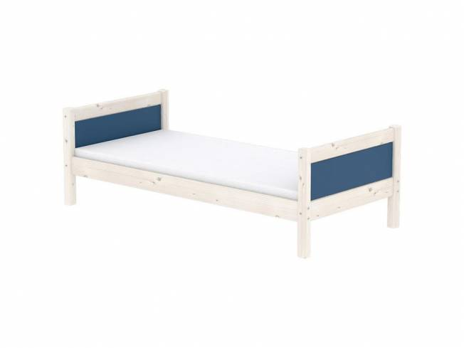 flexa harmony bettliege inkl lattenrost nordic blue 90x200cm. Black Bedroom Furniture Sets. Home Design Ideas