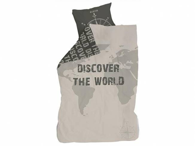 Bettwäsche Discover the World Lifetime Original
