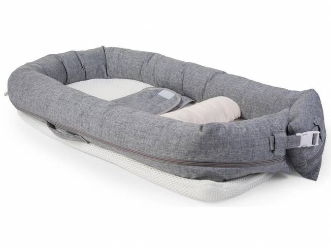 Soft Babynest Grau Canvas