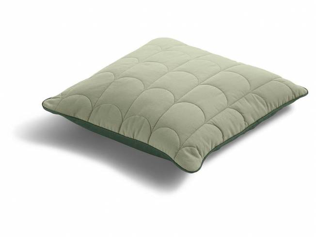Room Collection 1x Kissen 40x40cm Light/Dark Moss Green