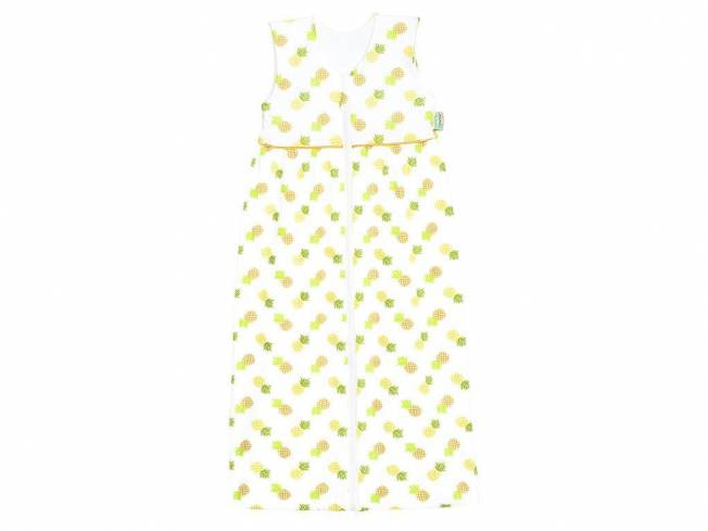 Pineapple Jersey-Schlafsack Anni Check Yellow Gr. 70