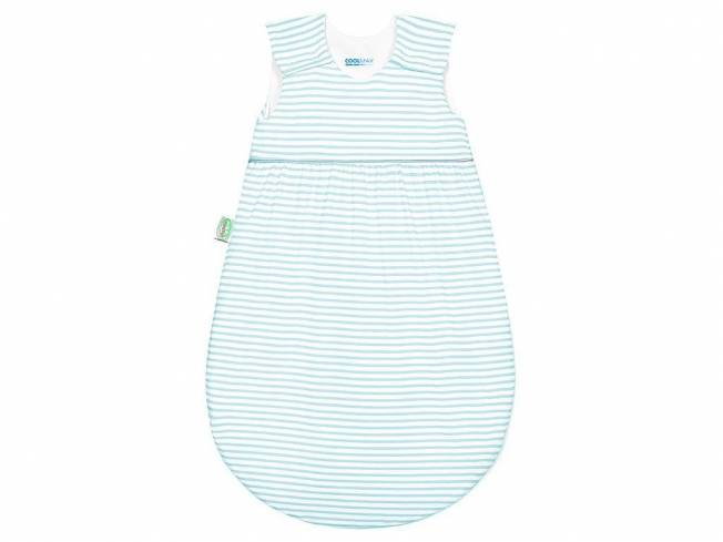 Timmi Cool Jersey-Schlafsack Gr. 110 Stripes Soft Mint