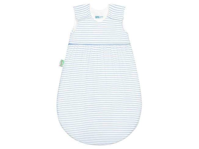 Timmi Cool Jersey-Schlafsack Gr. 70 Stripes Cool Blue