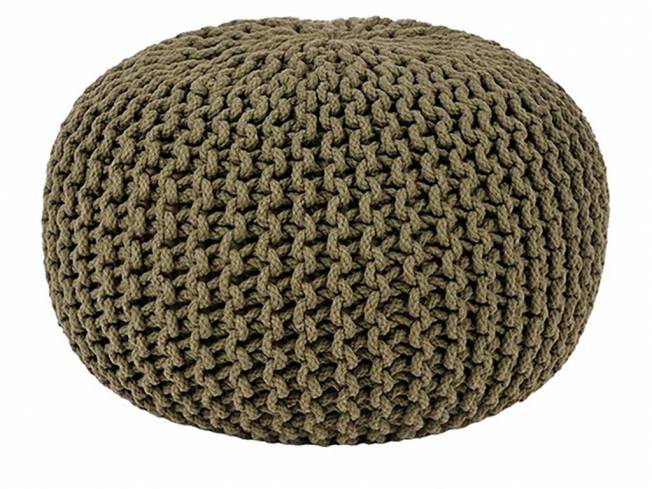 Sitzkissen Pouf Army Green Medium 50 x 50 cm