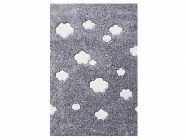 livone happy rugs teppich auf wolke 7 silbergrau 120x180cm. Black Bedroom Furniture Sets. Home Design Ideas