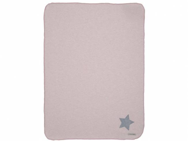 Lottas Lable® Jerseydecke Jerry Light Coral, 70x100cm