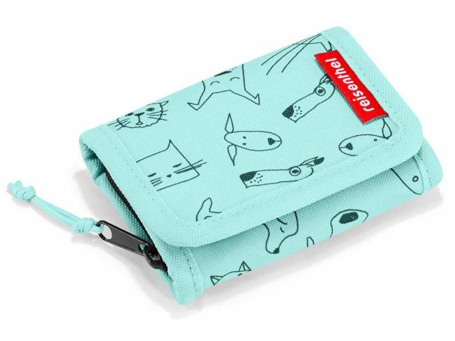 Reisenthel® Kids Brieftasche S Cats and Dogs Mint
