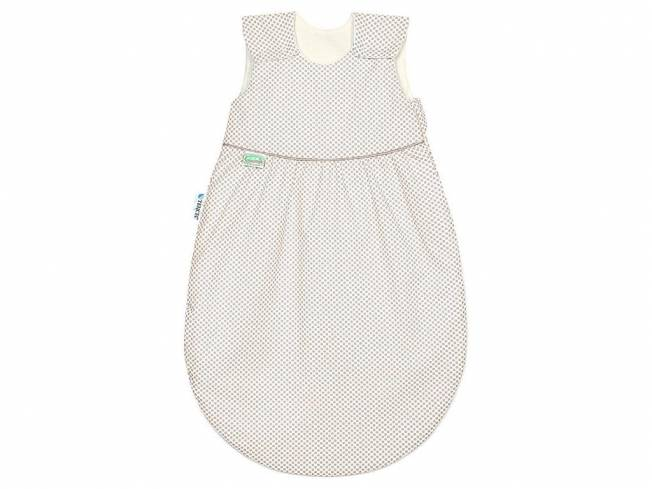 Klimasoft Sommerschlafsack cold Dots Gr. 110, Soft Cookie