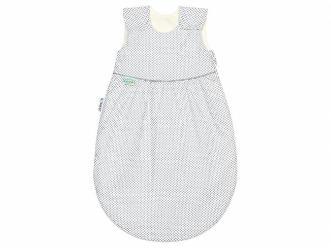 Klimasoft Sommerschlafsack cold Dots Gr. 60, Light Grey