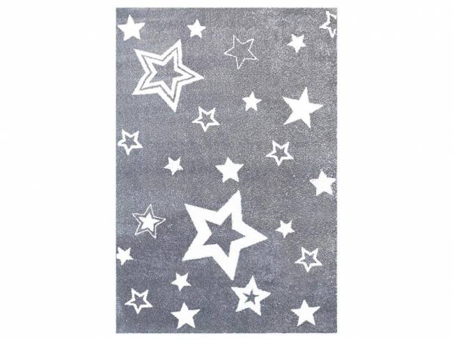 livone happy rugs teppich starlight grau wei 130x190cm. Black Bedroom Furniture Sets. Home Design Ideas