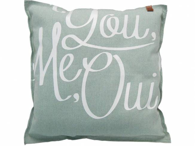 Kissen You Me Oui Ice 45x45cm
