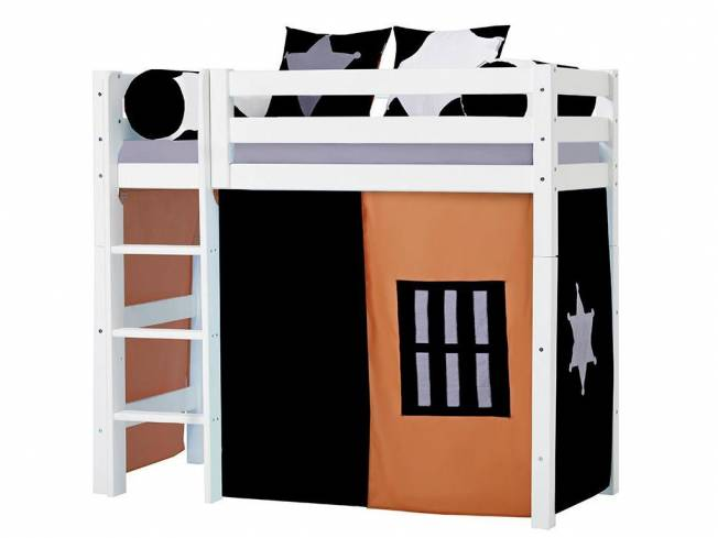 hoppekids cowboy vorhang f r midisleeper etagenbett 70x160cm. Black Bedroom Furniture Sets. Home Design Ideas