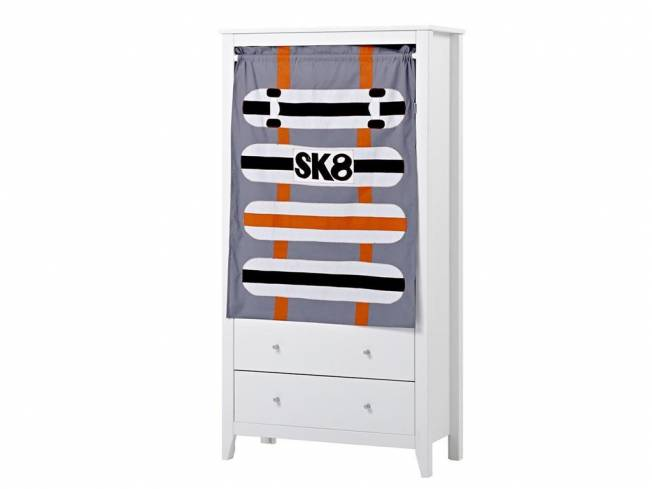 hoppekids skater vorhang f r schrank regal hans. Black Bedroom Furniture Sets. Home Design Ideas
