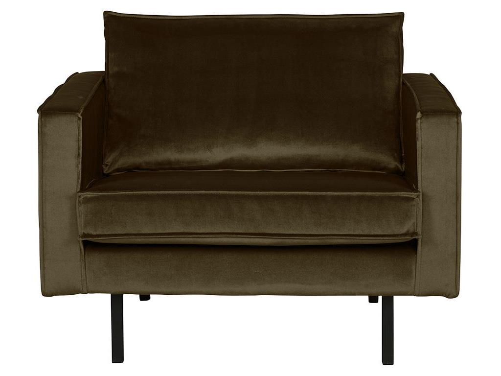 BEPUREHOME Rodeo Sessel Samt Dark Green Hunter 800541-156