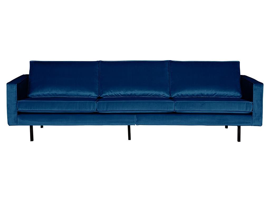bepurehome rodeo sofa samt blau 3 sitzer. Black Bedroom Furniture Sets. Home Design Ideas