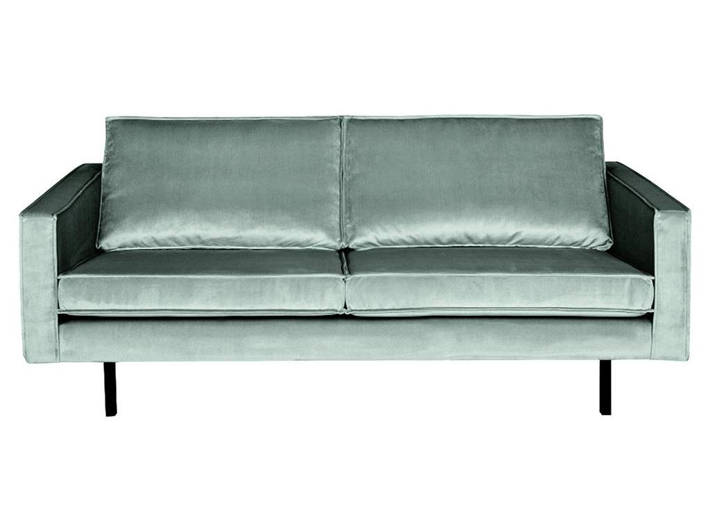 BEPUREHOME Rodeo Sofa Samt Mint 2,5 Sitzer 800542-144